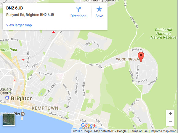 Brighton Permanent Makeup Google Map